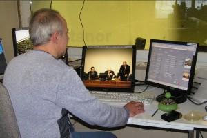 Управление конференцией с помощью контроллера Palantir