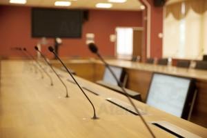Установка и подключение конференц-систем