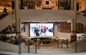 Рекламные экраны для торговых центров